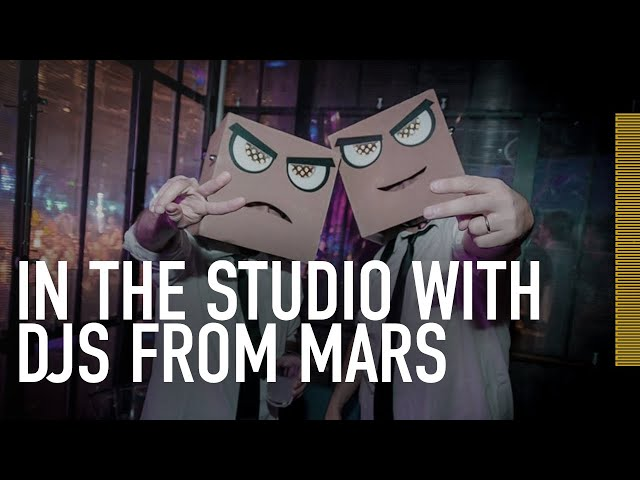 IN THE STUDIO With DJs from Mars | ADAM Audio