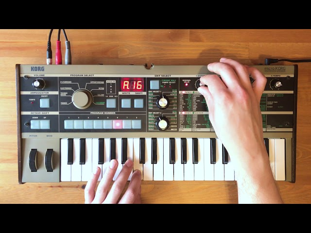 Patch of the Week 22: microKORG West-Coast Hip Hip Lead