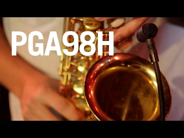 Hear what the Shure PG ALTA PGA98H sounds like!