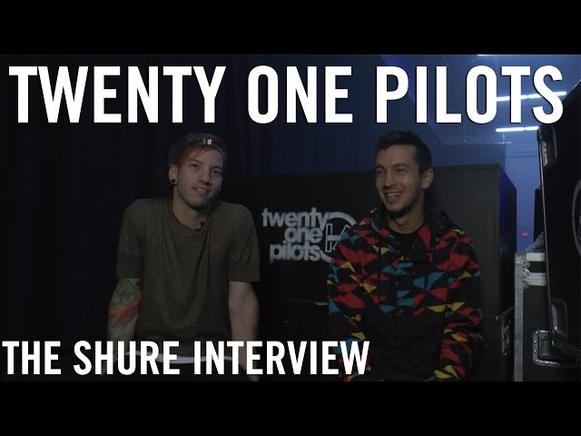 Twenty One Pilots - The Shure Interview