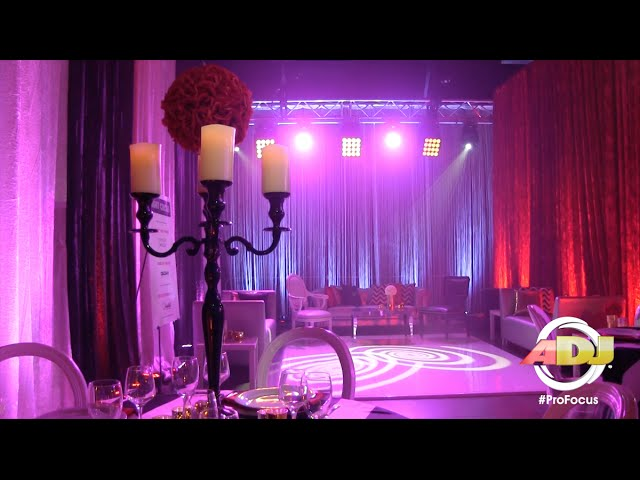 ADJ Pro Focus: Creating Event Spaces with ADJ Lighting