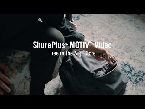 ShurePlus MOTIV Video - A day in the life of a vlogger
