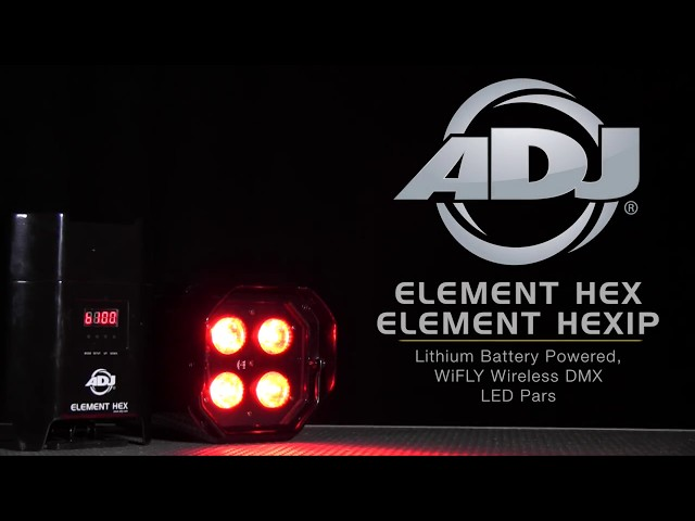 ADJ Element HEX & HEXIP