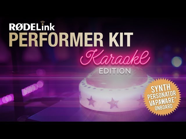 Introducing the RØDELink Performer Kit Karaoke Edition