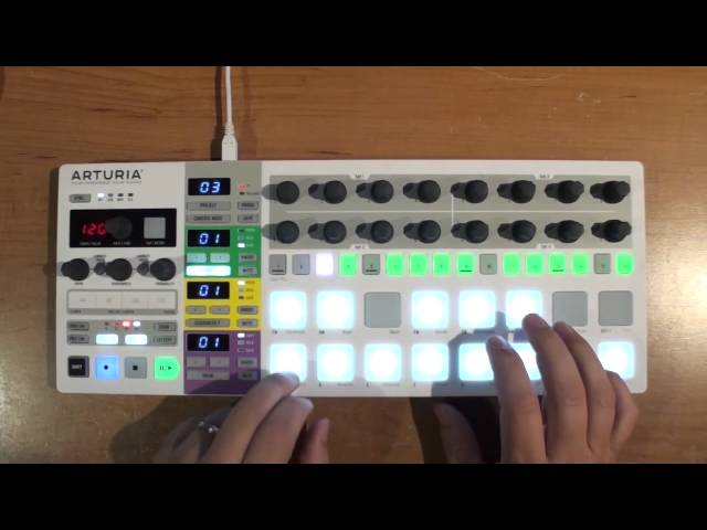 BeatStep Pro melodic sequencers