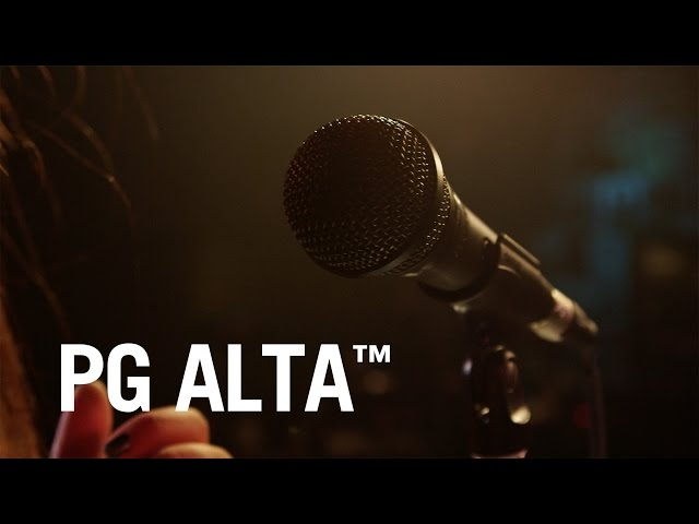 Hear what Shure PG ALTA Microphones sound like!