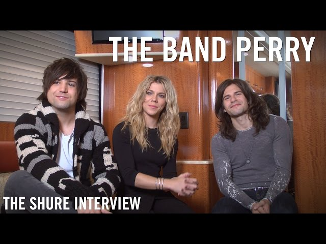 The Band Perry - The Shure Interview