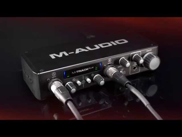 M-Audio M-Track Plus High-Resolution USB 2.0 Audio Interface