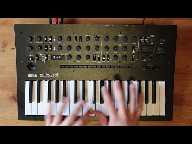 Patch of the week 14: Twin Peaks style E-piano on minilogue xd