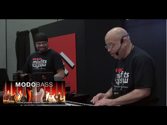 MODO BASS Live NAMM Performance with Donald Parker