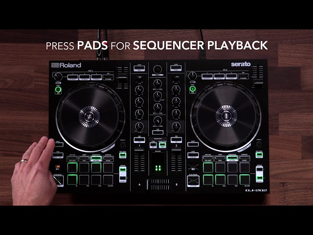AIRA Start - DJ-202- Step Sequence TR Drums and Sampler