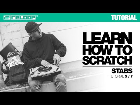 Learn how to Scratch with DJ Angelo: Stabs (Reloop SPIN Tutorial 5/7)