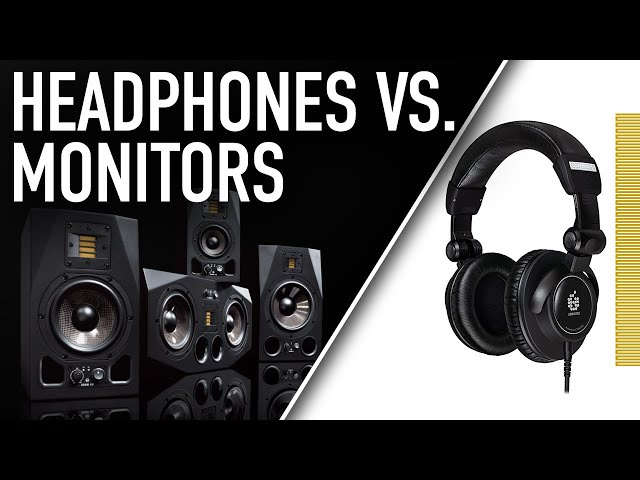 HEADPHONES vs. MONITORS... What to Use When? | ADAM Audio