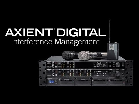 Shure Axient Digital Training – Interference Management