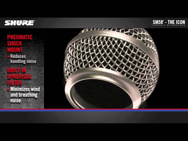 Shure SM58 Vocal Microphone Product Overview