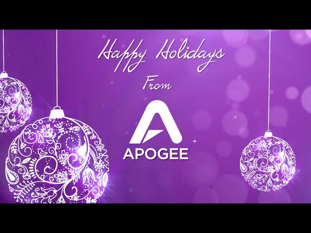 """All I Want for Christmas"" by the Apogee Electronics team"