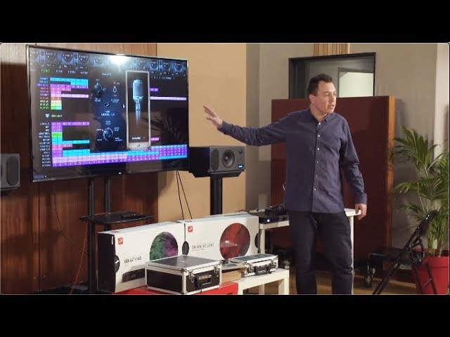 Orion Studio Synergy Core & Modeling Microphones Presentation at Abbey Road Institute Paris - Part 1