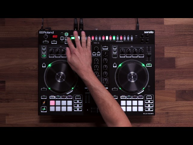 Roland DJ-505: TR-S Sequencer