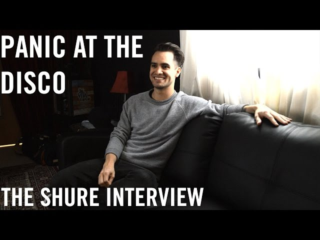 Panic! At The Disco - The Shure Interview