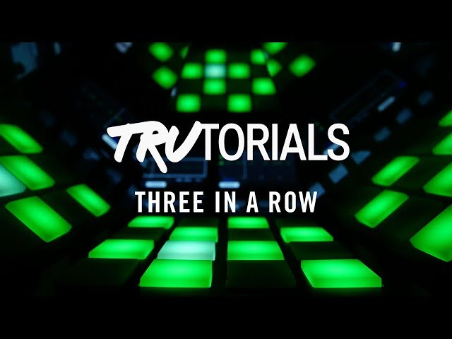MASCHINE TruTorials S05 E06: Three in a Row | Native Instruments