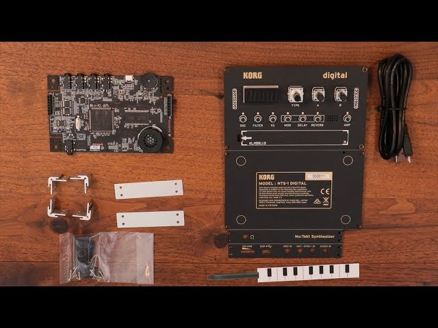 Nu:Tekt NTS-1 digital kit - Unboxing and Assembly tutorial