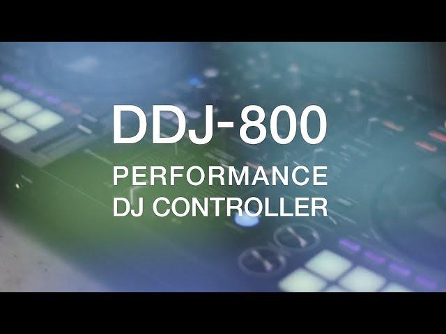 Pioneer DJ DDJ-800 Official Introduction