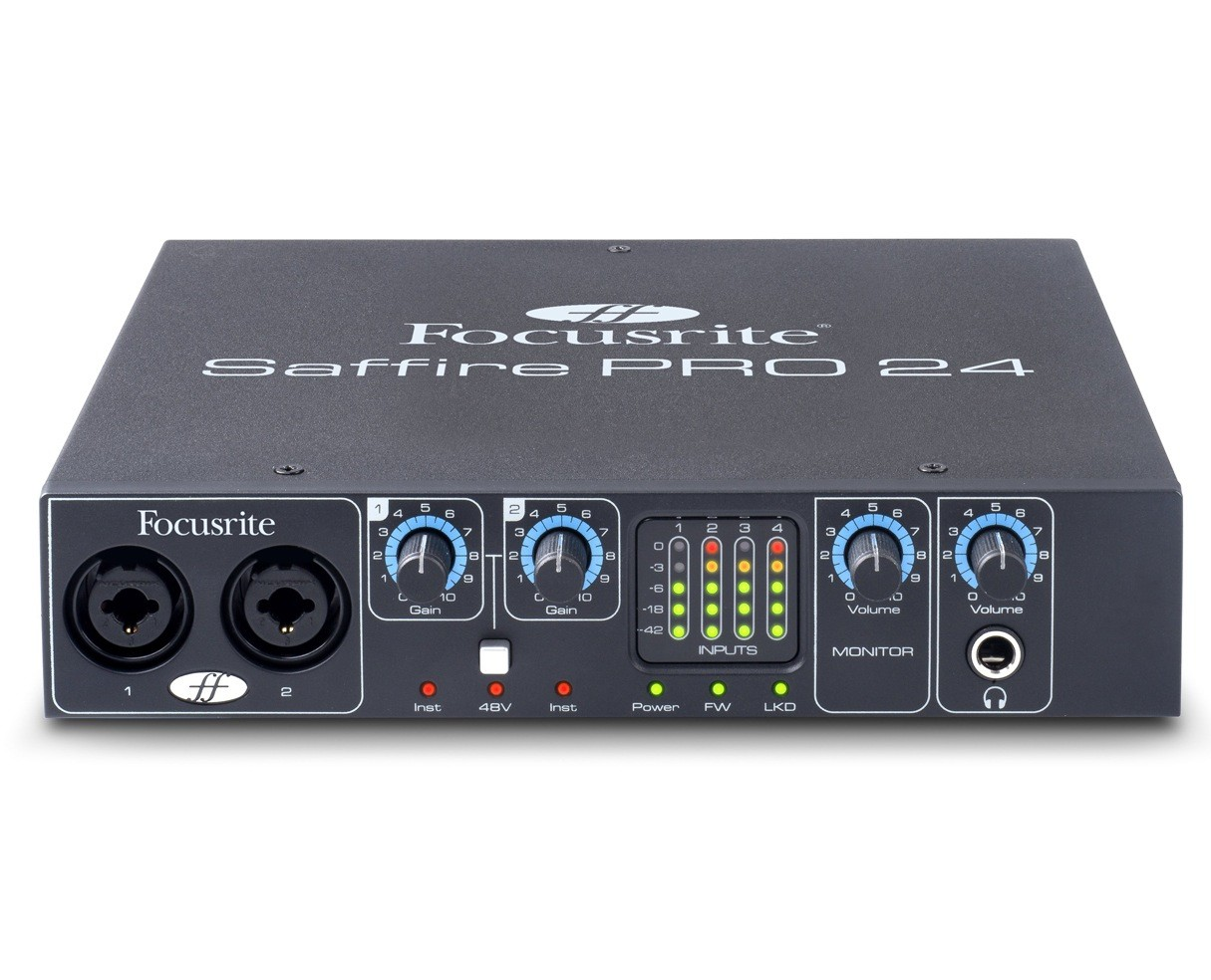 FOCUSRITE SAFFIRE 24 DRIVERS DOWNLOAD FREE