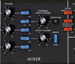 Arturia MINI-V mixer
