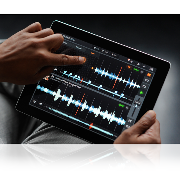 Native Instruments выпустил релиз TRAKTOR DJ для iOS.