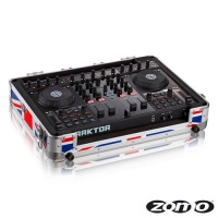 Zomo Flightcase MFC-S4 UK Flag - Жесткий кейс Zomo Flightcase MFC-S4 UK Flag для DJ-контроллера Native Instruments Traktor Control S4.