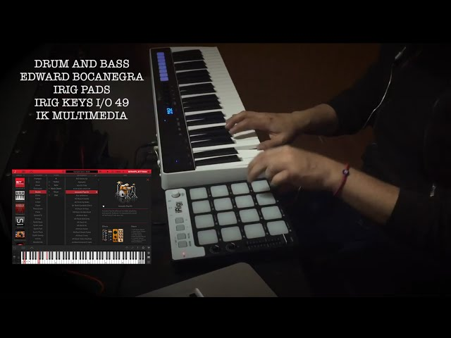 Edward Bocanegra on SampleTank 4 Drums & Synth Bass