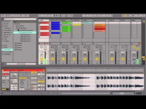 Getting started with Ableton Live - Part 5: Working in Session View