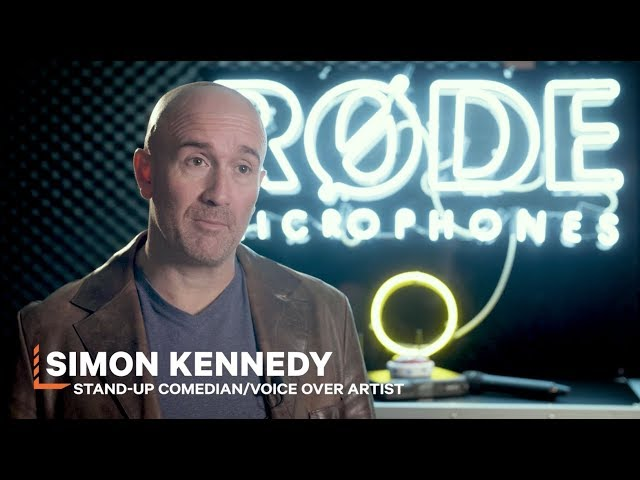 Simon Kennedy on the RØDELink Performer Kit Karaoke Edition