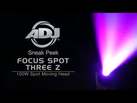 ADJ Focus Spot Three Z Sneak Peek