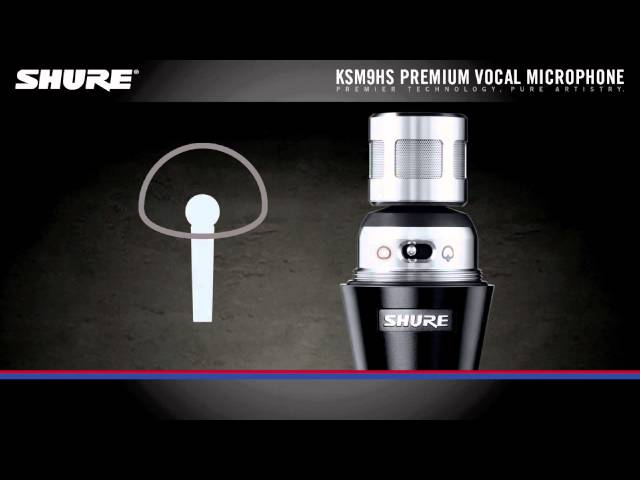 Shure KSM9HS Handheld Vocal Microphone Product Overview