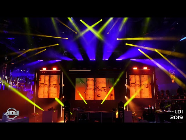ADJ Lightshow at LDI 2019
