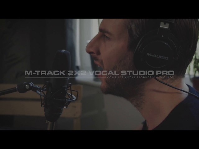 M-Track 2X2 Vocal Studio Pro (feat. Maximilian Hecker)