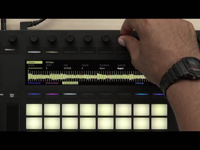 Ableton Push 2 – Sampling: Slicing Mode