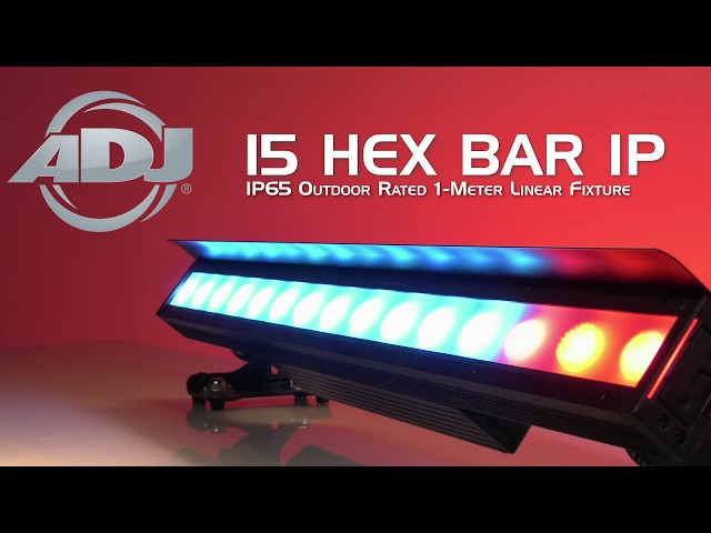 ADJ 15 HEX BAR IP
