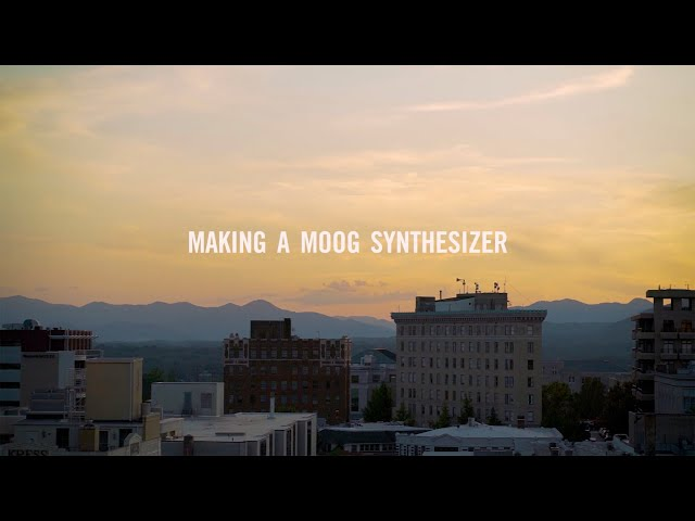 Making a Moog Synthesizer