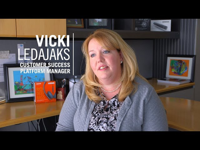 Shure Associates: Vicki Ledajaks - Customer Success Platform Manager