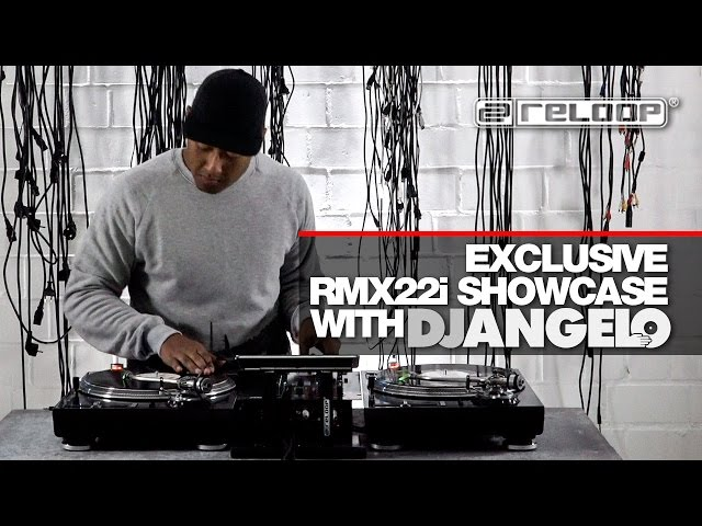 Analogue vs. Digital: Watch DJ Angelo performing on our award winning RMX22i