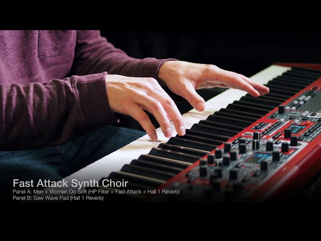 4 ways of using Symphonic Choirs on the Nord Stage 3