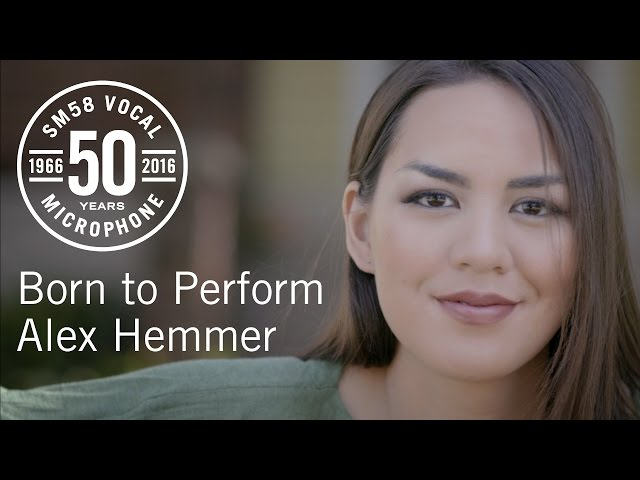 Born to Perform: Alex Hemmer & the Shure SM58