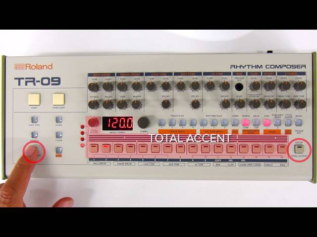 "TR-09 Quick Start 04 ""Step Write (Step Recording)"""