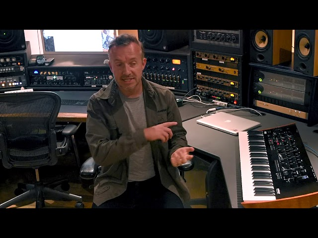 Fraser T Smith on the Korg prologue
