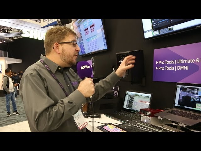 #AVID AT #NAMM2019 | Dave Tyler shows us audio for post production solutions
