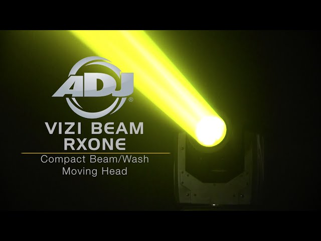 ADJ Vizi Beam RXONE Product Demo Video