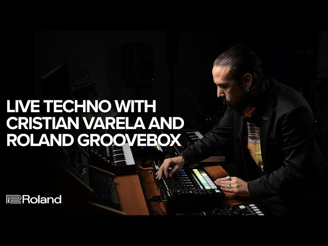 Live Techno with Cristian Varela and the Roland MC-707 & MC-101 GROOVEBOX