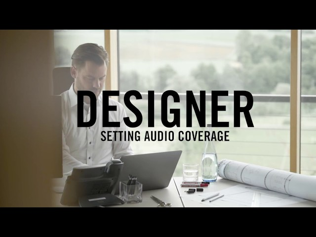 Shure Designer Tutorial 2 - Setting Audio Coverage